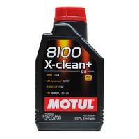 MOTUL 摩特 欧洲进口 全合成机油 8100 X-CLEAN+ C3 5W30 1L/桶