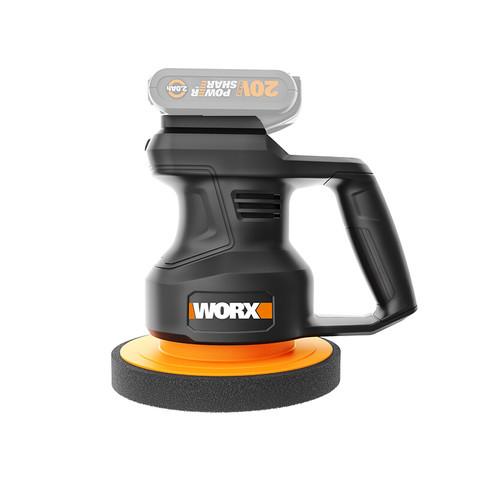 WORX 威克士 威克士无线打蜡机WX858.9(裸机不含电池)充电式抛光机汽车车载封釉地板抛光 无线打蜡机电动工具