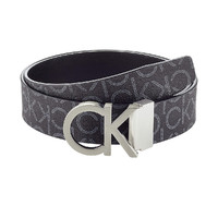 Calvin Klein 卡尔文·克莱 百搭商务男士腰带可双面翻转使用LOGO针扣