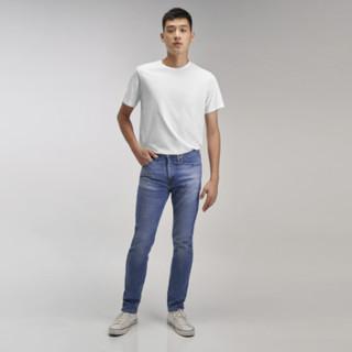 Levi's 李维斯 05510-1123 男士浅蓝色510紧身牛仔裤
