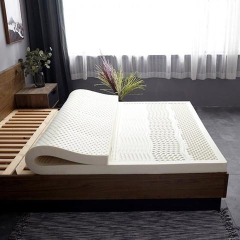 移动端:琳豆豆  泰国乳胶床垫 七区按摩款5厘米 90*190含内外套