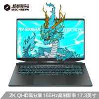 MECHREVO 机械革命 机械革命(MECHREVO)蛟龙7 17.3英寸游戏笔记本电脑(R9-5900HX 16G 512G RTX3070 165Hz 100%sRGB 2K)