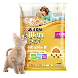 CatChow 妙多乐 均衡营养幼猫猫粮 10kg