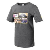 SUNING 苏宁 苏宁足球俱乐部棉质男士休闲新品短袖印花图案文化衫T恤