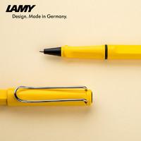 LAMY 凌美 凌美(LAMY)宝珠笔 狩猎系列黄色签字笔 0.7mm-私人定制刻字