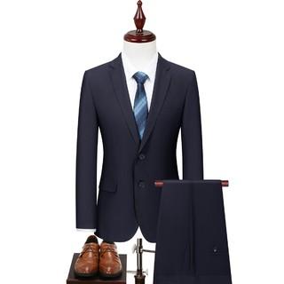 Hodo 红豆 HZI1X005SQB5 男士西装礼服套装