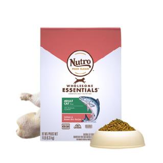 Nutro 美士 全护营养系列 三文鱼糙米成猫猫粮 6.35kg