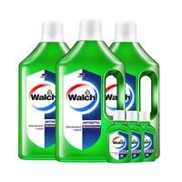 88VIP:Walch 威露士 多用途消毒液 1L*3瓶 送60ml*3支