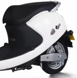 SUNRA 新日 缤丽龟王系列 XR800DQT-2C 电动摩托车 60V20Ah铅酸电池 香脂白
