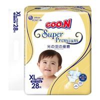 GOO.N 大王  光羽系列 婴儿纸尿裤  XL28片