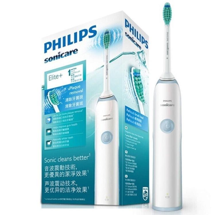 PHILIPS 飞利浦  清新洁净系列 HX3216/01 充电式电动牙刷 蓝色