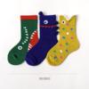 Caramella 焦糖玛奇朵 儿童中筒袜子 3双装