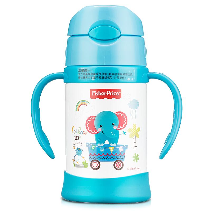 Fisher-Price 费雪 FP-8012 儿童保温吸管杯