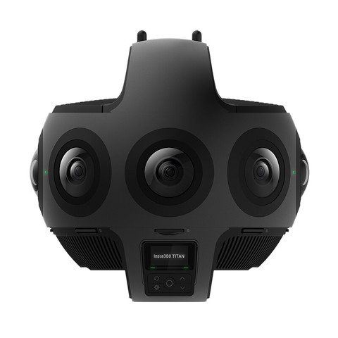 Insta360  Titan专业级8镜头10Bit色深全景相机 11K3D相机VR摄像机