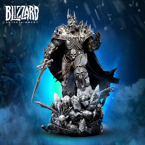 玩模总动员、新品预定:BLIZZARD 暴雪 《魔兽世界》巫妖王阿尔萨斯 1/4 典藏雕像