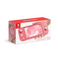 Nintendo 任天堂 日版 Switch Lite游戏机 粉色