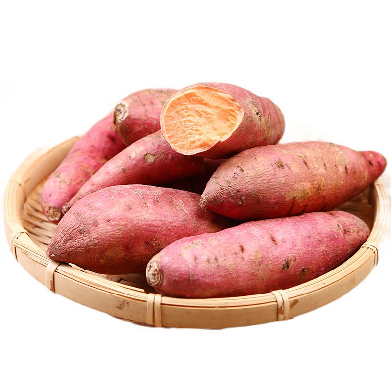 小马乐活  沙地红薯  4.5斤