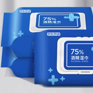 J.ZAO 京东京造 75%酒精湿巾