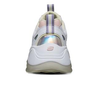 SKECHERS斯凯奇女鞋2020新款舒适厚底低帮系带运动休闲鞋88888407