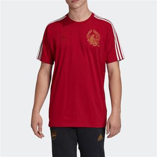 adidas 阿迪达斯 阿森纳 新年特别款 男子运动T恤 FH7893 红色 M
