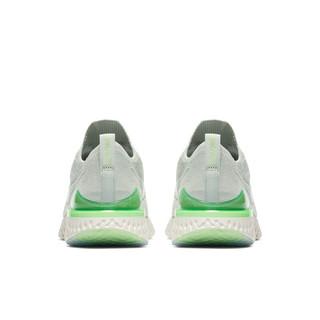 NIKE 耐克 Epic React Flyknit 2 女子跑鞋 BQ8927-005 白绿 39