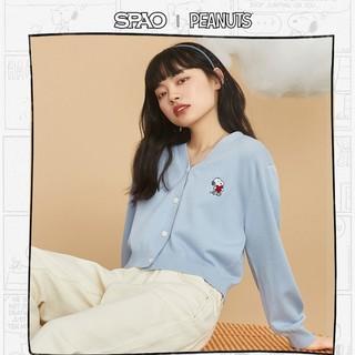SPAO Snoopy联名 SPCKB11D11 女士开衫毛衣