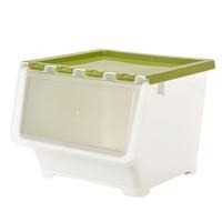 BELO 百露 塑料储物箱 大号 抹茶绿