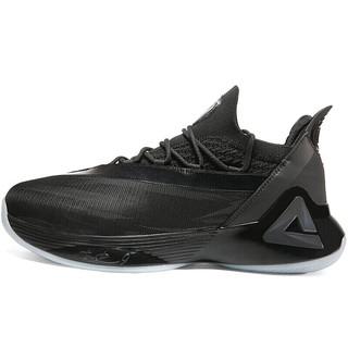 PEAK 匹克 帕克7代 男子篮球鞋 E93323A 纯黑 42