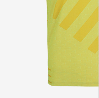 NIKE 耐克 男子运动T恤 BV4688-702 黄色 XL