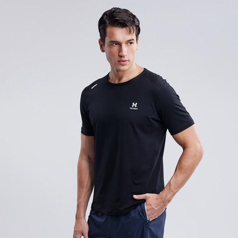 HOTSUIT 后秀 男款运动t恤圆领运动短袖t恤男运动衣男式t恤短袖