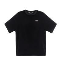 TEAM WANG 男女款天鹅绒短袖T恤