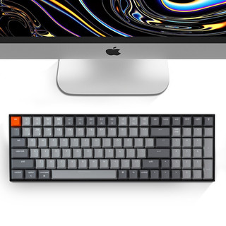 Keychron K4蓝牙无线机械键盘背光100键有线双系统兼容苹果笔记本适用iPad pro外接 K4V2-B3-RGB版茶轴