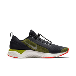 NIKE 耐克 Odyssey React Shield 男子跑鞋 AA1634-300 橄榄绿 40