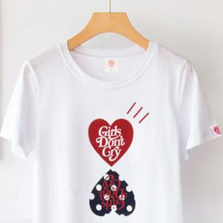 Girls don't Cry 男女款短袖T恤 09 黑色 S