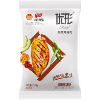 ishape 优形 鸡胸肉组合装 2口味 100g*10袋(鸡胸肉浓郁烟熏味100g*5袋+电烤鸡胸肉迷情奥尔良味100g*5袋)