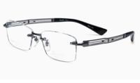 CHARMANT 夏蒙 男士无框镜架线眼镜框XL1456-GR-灰色