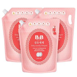 有券的上 : B&B 保宁  洗衣液补充装 2100ml 3件装