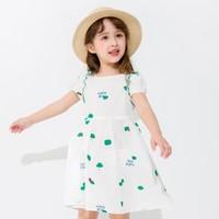 balabala 巴拉巴拉 女小童田园风连衣裙