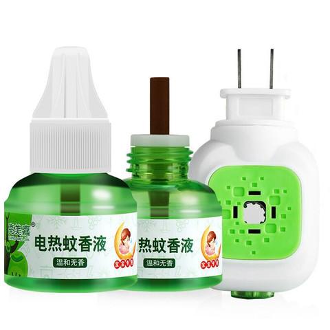 电蚊香液 1瓶蚊香液+1插头