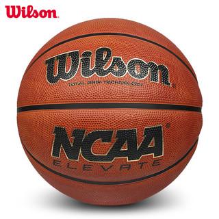 Wilson 威尔胜 官方正品Wilson威尔胜篮球7号球NCAA室外水泥地耐磨训练专用球6号