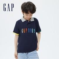 Gap 盖璞 男童短袖Polo上衣