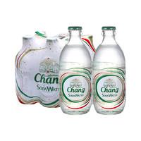 88VIP:Chang 象牌 无糖苏打水 碱性水气泡汽水饮料 325ml*6瓶