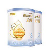 Wyeth 惠氏 惠氏启赋蓝钻3段幼儿配方奶粉350g*2罐(赠品)