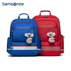 Samsonite 新秀丽 Samsonite/新秀丽双肩包男女孩儿童书包小学生 轻便幼儿园背包TU6