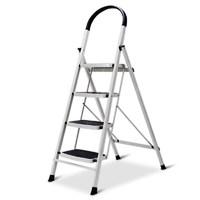 PLUS会员:Aopeng 奥鹏 AP1264 家用四步折叠梯