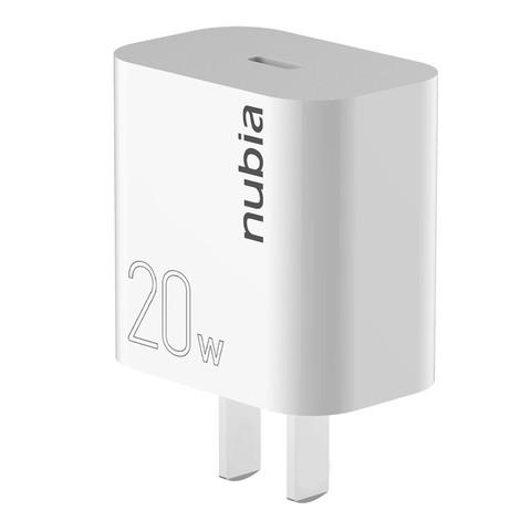 nubia 努比亚 PA0101 20W 单C口 PD充电器