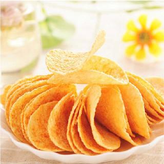 Lay's 乐事 乐事原切薯片8包原味黄瓜办公室小零食休闲膨化食品美食小吃礼包