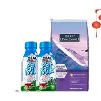PLUS会员:Pure&Natural 伯纳天纯 成猫粮 10kg+真致牛奶 380ml*2瓶