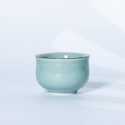 xigu 熹谷 龙泉青瓷 粉青釉品茗茶杯