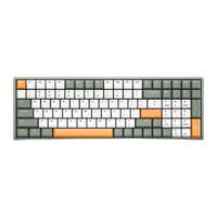 颜值、体积和数字区我全都有,IQUNIX F96 牛油果 机械键盘